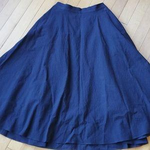 Uniqlo Textured A-line Skirt Sz XS